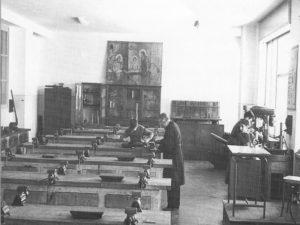 Istituto San Giuseppe La Salle Milano Anni '50 Laboratori