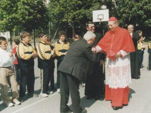 Istituto San Giuseppe La Salle Milano 2002 Anniversario 50 anni Benedizione Cardinal Martini