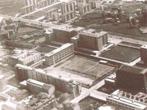 Istituto San Giuseppe La Salle Milano1957 Veduta aerea