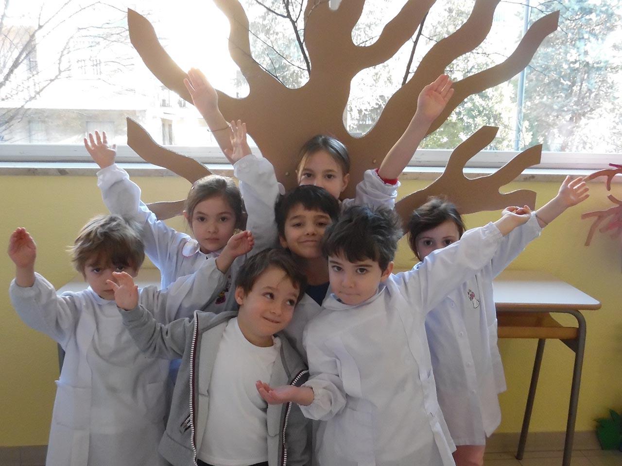 Istituto San Giuseppe La Salle Milano Scuola dell'Infanzia Lab Creativo Amico Albero_1