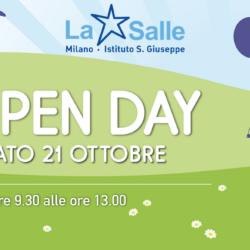 Istituto San Giuseppe La Salle Milano Open Day 21 ottobre 2017 News_Head