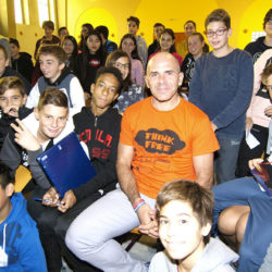 Istituto San Giuseppe La Salle Milano Scuola Secondaria Incontro Andrea Devicenzi_Head