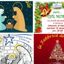 Istituto San Giuseppe La Salle Milano Combo Locandine Feste di Natale 2017_Head