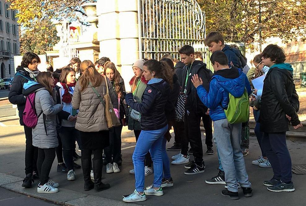 Istituto San Giuseppe La Salle Milano Scuola Secondaria Classi Terze Uscita Didattica Luoghi Manzoniani 2017_Head