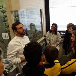 Istituto San Giuseppe La Salle Milano Scuola Secondaria Classi Terze Uscita Didattica CNR Milano ISMAC_Head
