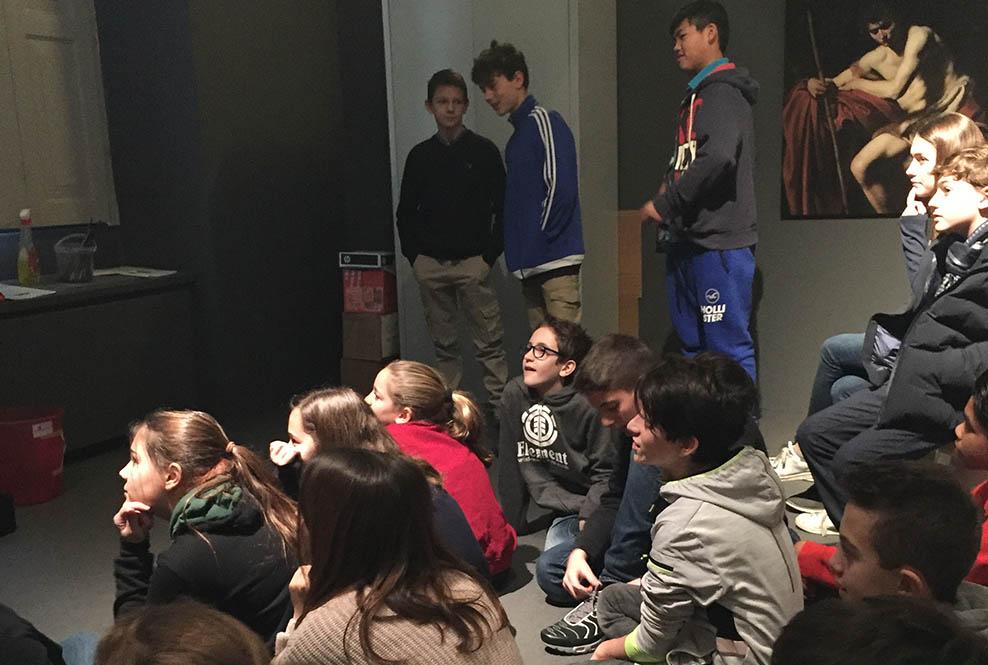 Istituto San Giuseppe La Salle Milano Scuola Secondaria Classi Seconde Uscita didattica Mostra Caravaggio Milano_Head