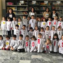 Istituto San Giuseppe La Salle Milano Scuola dell'Infanzia Giornata di preghiera per la Pace 2018_Head