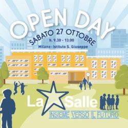 Istituto San Giuseppe La Salle Milano Open Day 2018-2019 News Evidenza