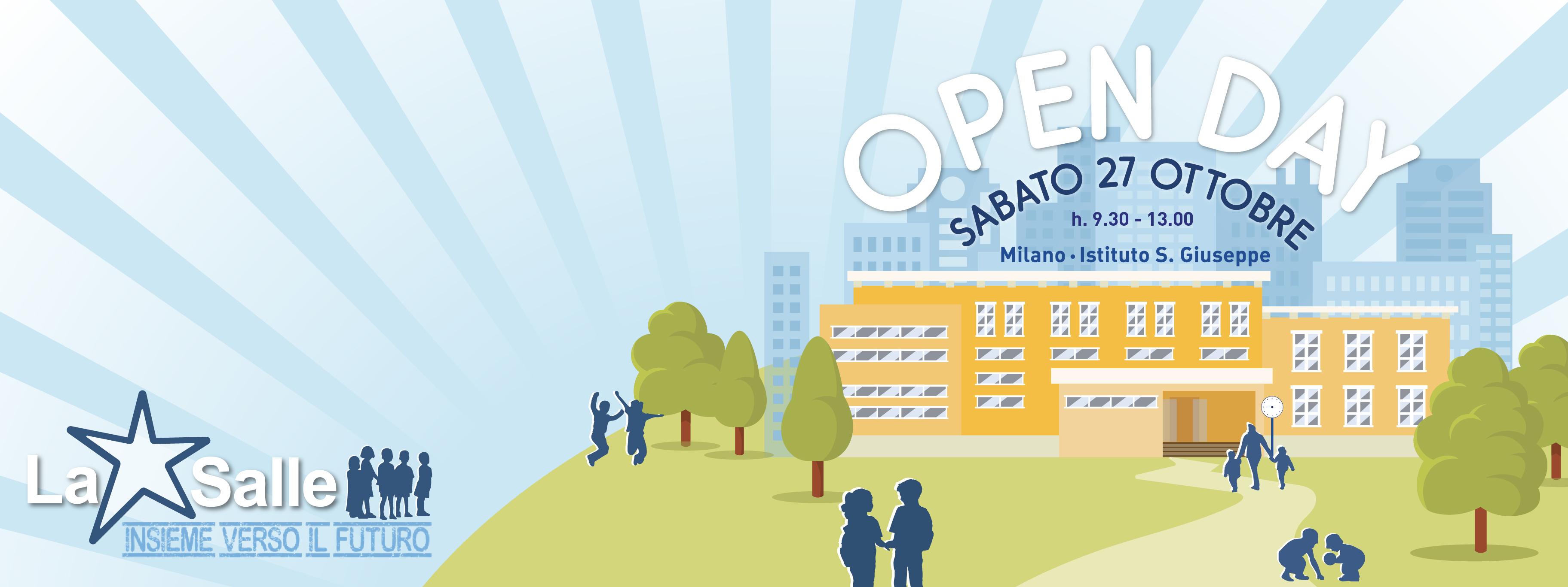 Istituto San Giuseppe La Salle Milano Open Day 2018-2019_Head