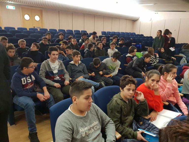 Istituto San Giuseppe La Salle Milano Scuola Secondaria Classi Terze Uscita didattica Federchimica_1