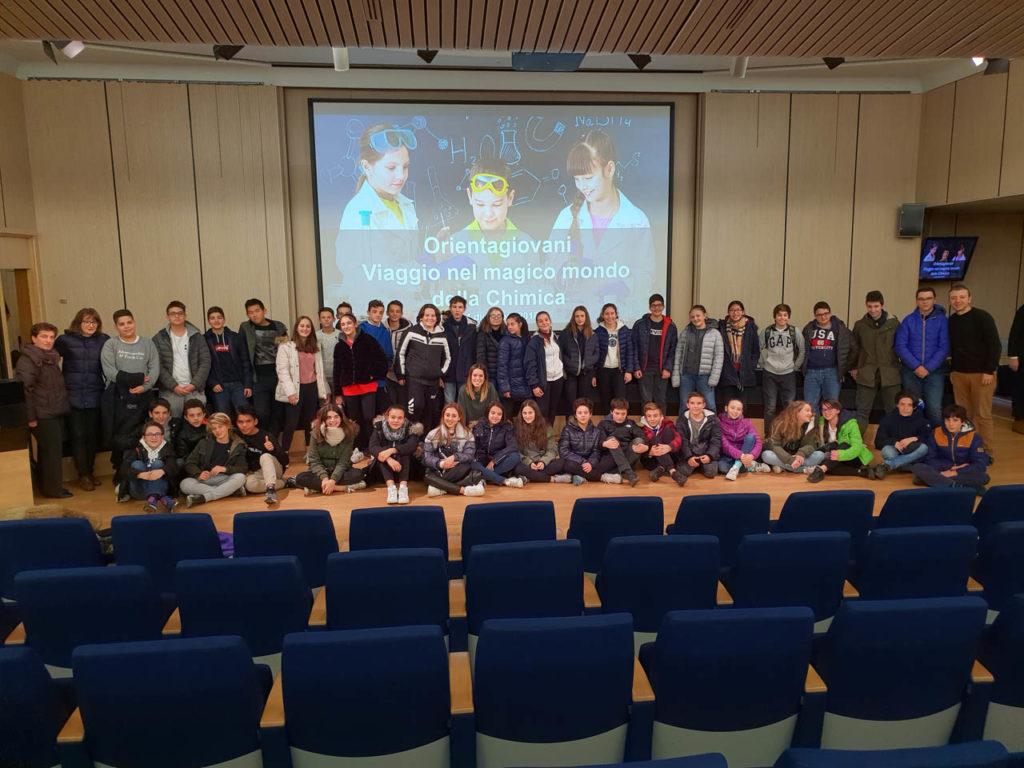 Istituto San Giuseppe La Salle Milano Scuola Secondaria Classi Terze Uscita didattica Federchimica_3