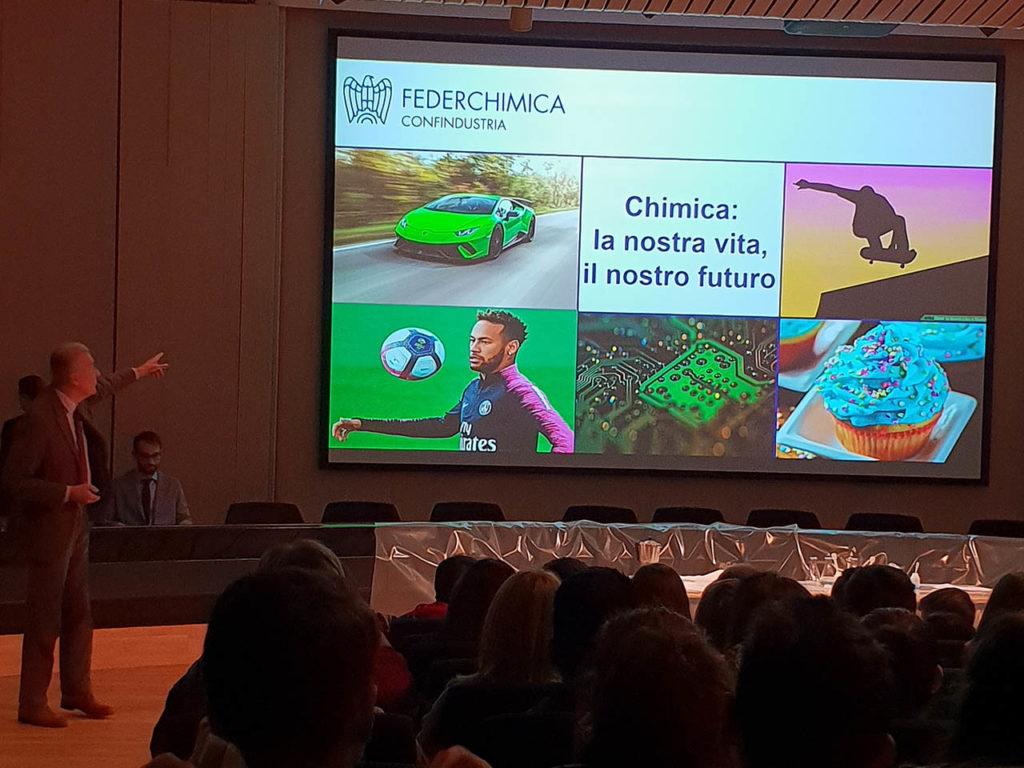 Istituto San Giuseppe La Salle Milano Scuola Secondaria Classi Terze Uscita didattica Federchimica_4