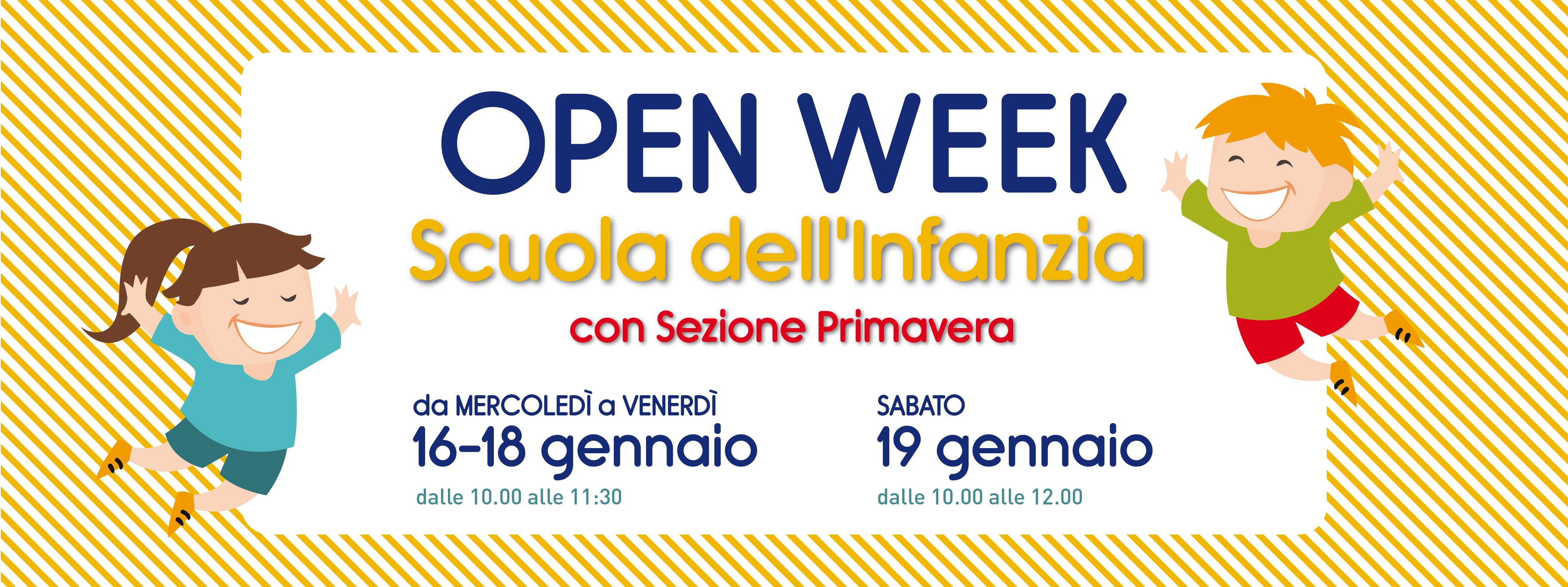 Istituto San Giuseppe La Salle Milano Open Week Scuola dell'Infanzia 2018-2019_Head
