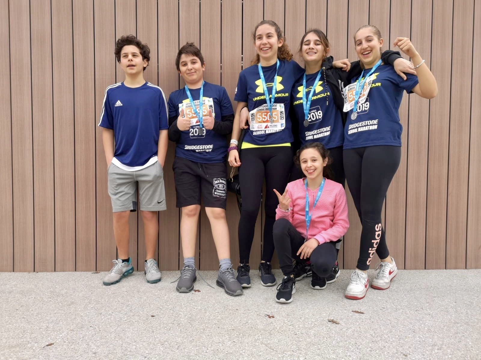 Istituto San Giuseppe La Salle Milano Bridgestone School Marathon 2019_2