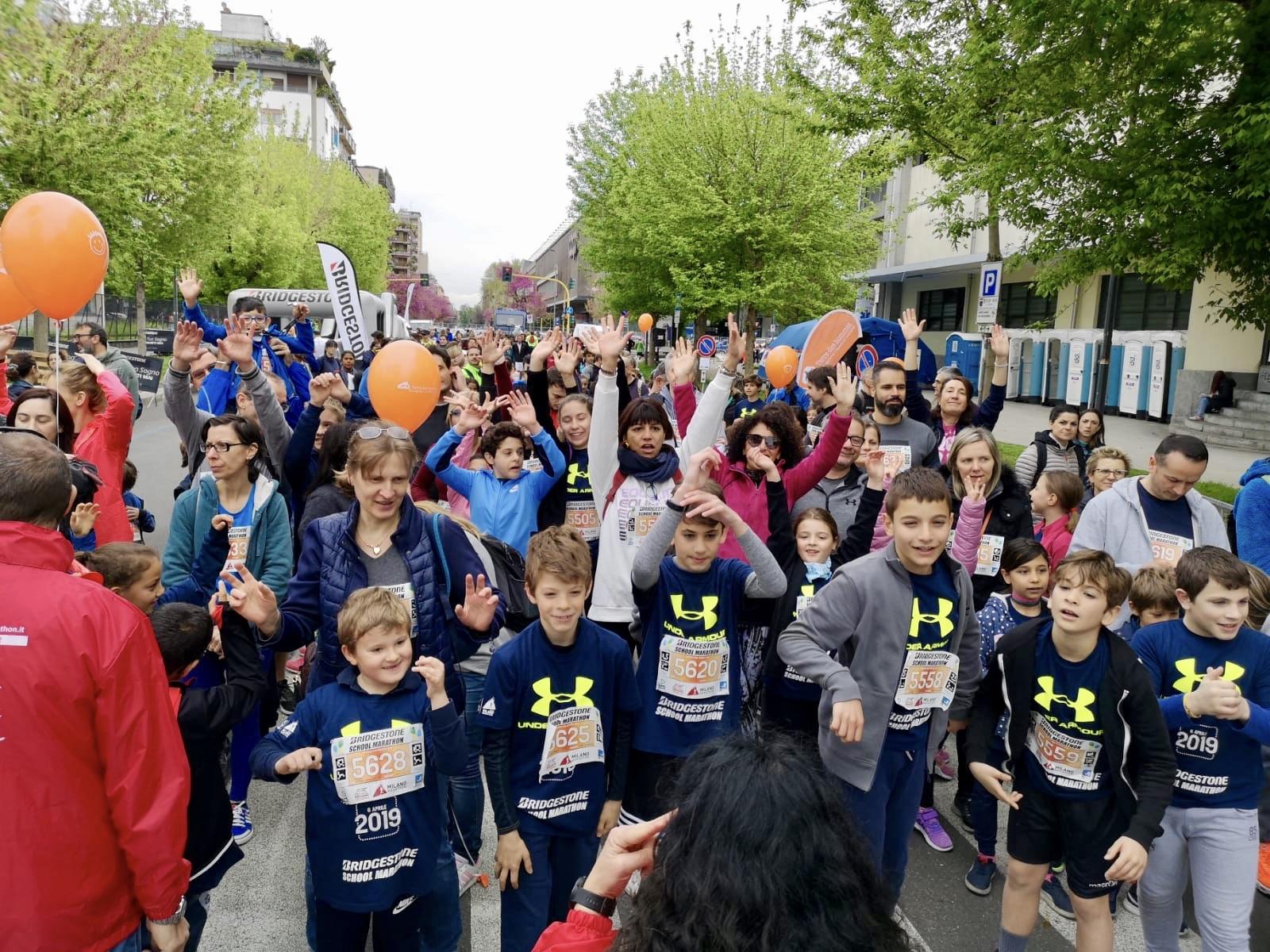 Istituto San Giuseppe La Salle Milano Bridgestone School Marathon 2019_3