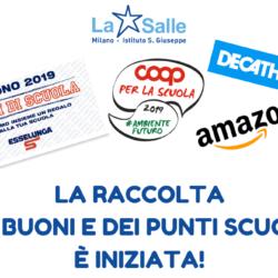 Istituto San Giuseppe La Salle Milano Raccolta Buoni e Punti Scuola 2019