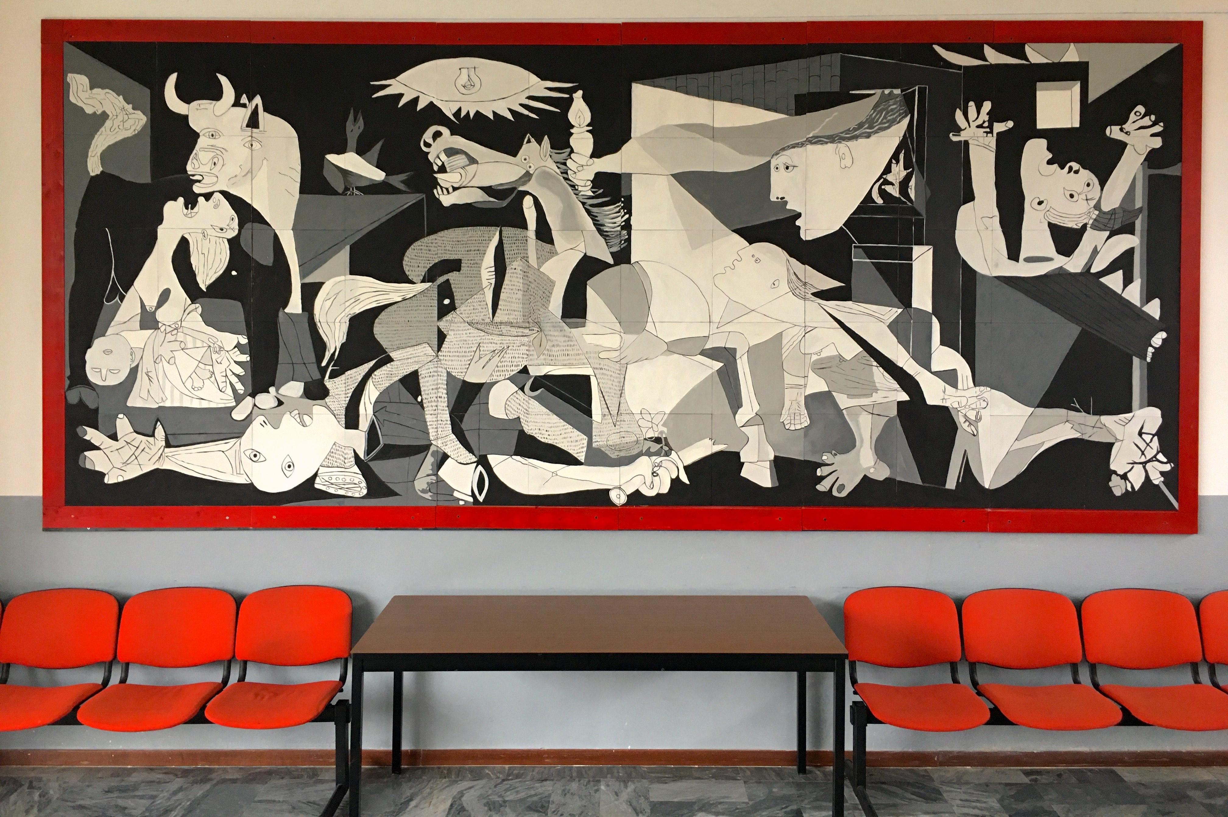 Istituto San Giuseppe La Salle Milano Scuola Primaria Classi Quarte Inaugurazione Guernica_4