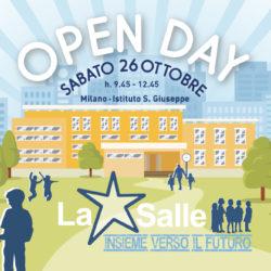 Istituto San Giuseppe La Salle Milano Scuola primaria e Secondaria Open Day 2019 News Head