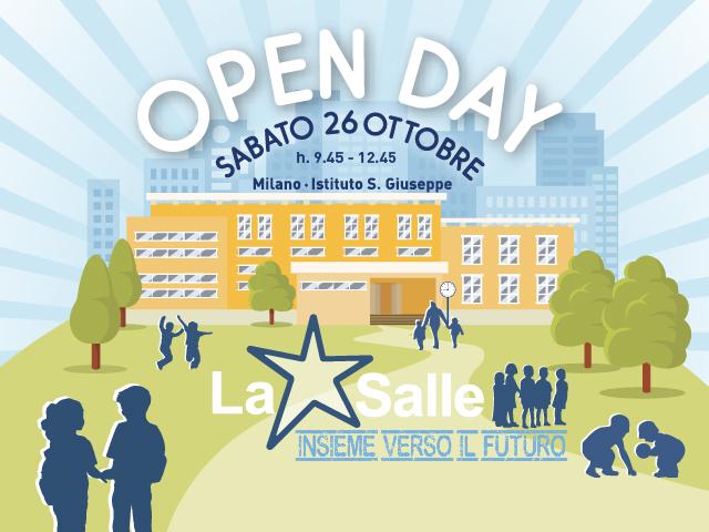 Istituto San Giuseppe La Salle Milano Scuola primaria e Secondaria Open Day 2019 News