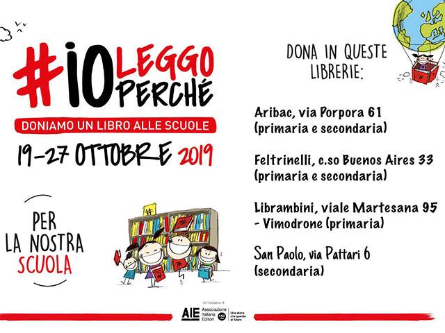 Istituto San Giuseppe La Salle Milano #ioleggoperché2019