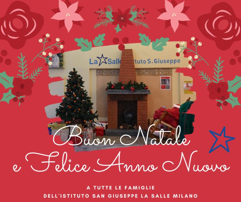 Istituto San Giuseppe La Salle Milano Auguri Natale 2019