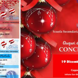 Istituto San Giuseppe La Salle Milano Natale 2019 Locandine Feste