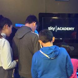 Istituto San Giuseppe La Salle Milano Scuola Secondaria Classi Seconde Uscita didattica Sky Academy 2020_Head