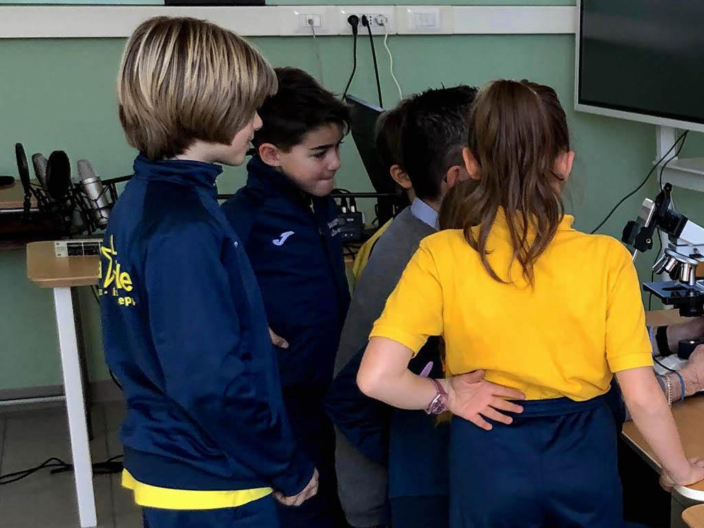 Istituto San Giuseppe La Salle Milano Scuola Primaria Classi 4A e 4B Esperto a Scuola Biologo_2