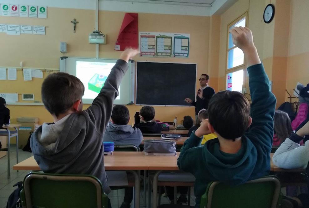 Istituto San Giuseppe La Salle Milano Scuola Primaria Classi 4A e 4B Esperto a Scuola Biologo_Head