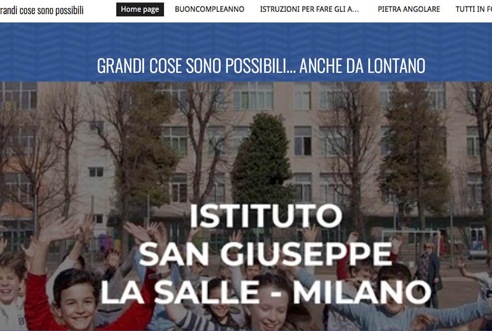 Istituto San Giuseppe La Salle Milano Presentazione Minisito