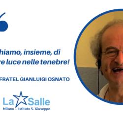 Istituto San Giuseppe La Salle Milano Avvicendamento direttore comunità saluto Fratel Gianluigi