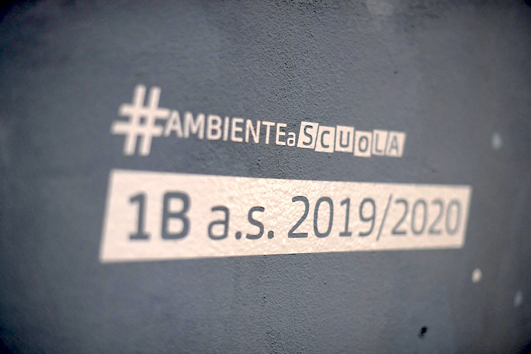 Istituto San Giuseppe La Salle milano Scuola Secondaria Un murale per L'Ambiente #AmbienteaScuola_22