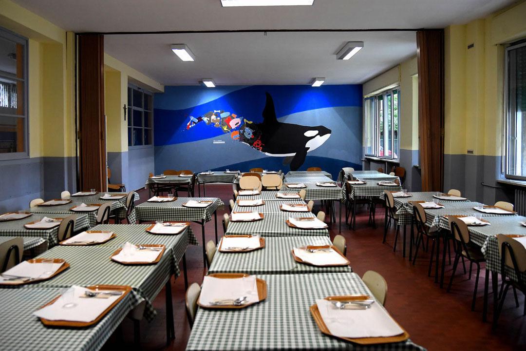 Istituto San Giuseppe La Salle milano Scuola Secondaria Un murale per L'Ambiente #AmbienteaScuola_23