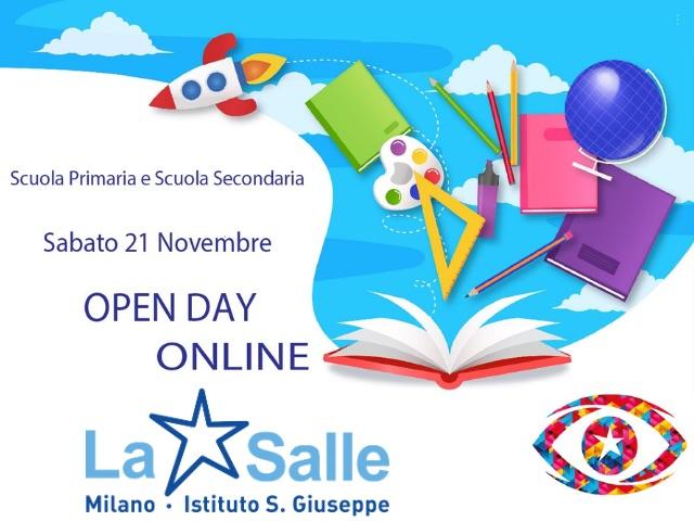Istituto San Giuseppe La Salle Milano Open Day 2020 ONLINE News