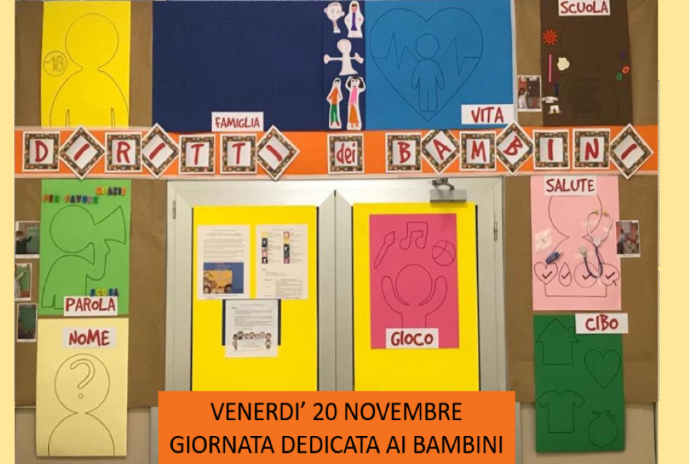 Istituto San Giuseppe La Salle Milano Scuola dell'Infanzia Giornata Internazionale per i Diritti dellinfanzia e dell'Adolescenza 2020_Head