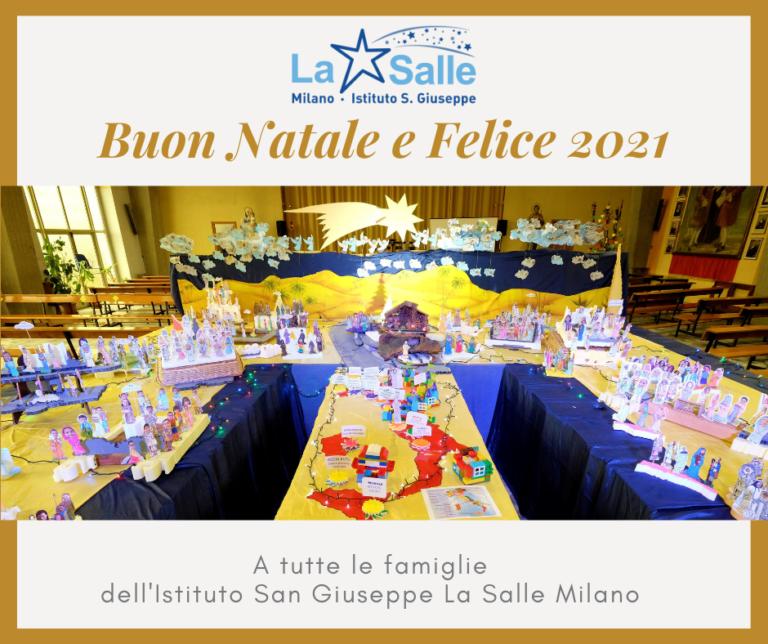 Istituto San Giuseppe La Salle Milano Auguri Natale 2020