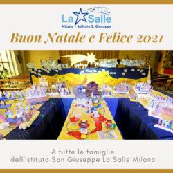 Istituto San Giuseppe La Salle Milano Auguri Natale 2020_Head