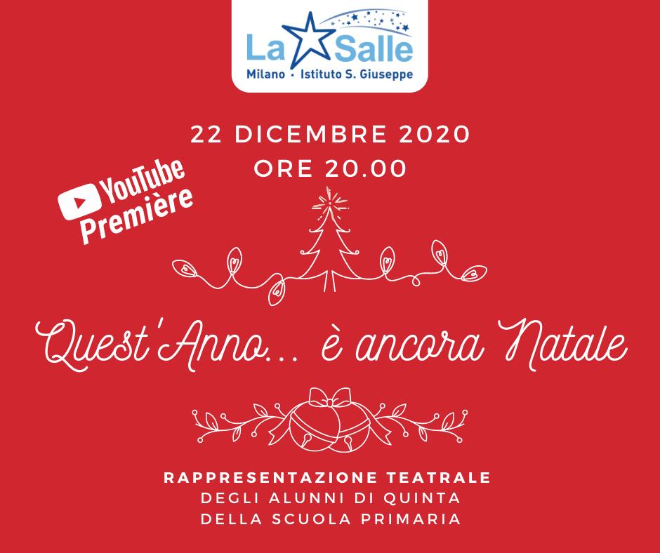 Istituto San Giuseppe La Salle Milano Locandina È ancora Natale