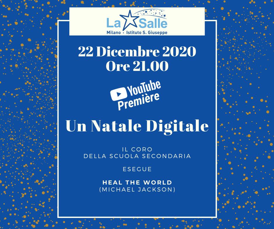 Istituto San Giuseppe La Salle Milano Locandina Natale Digitale