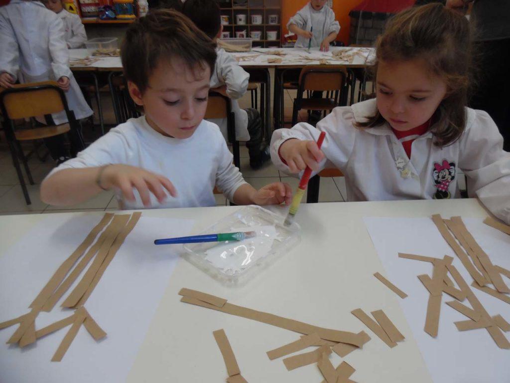 Amato Scuola dell'Infanzia – Laboratorio Creativo, i bambini scoprono L ZP37