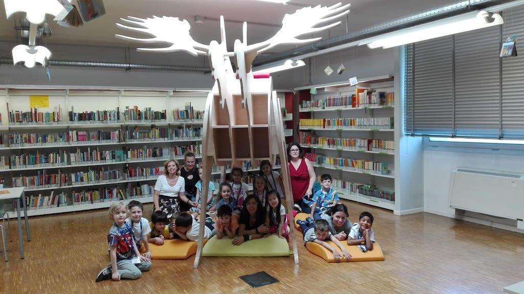 Istituto San Giuseppe La Salle milano Scuola dell'Infanzia Uscita didattica Zerogravity e biblioteca_6