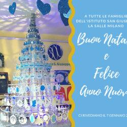 Istituto San Giuseppe La Salle Milano Auguri Natale 2018_Head