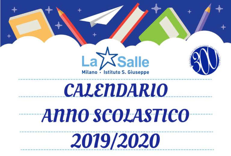 Anno Calendario 2020.Scarica La Circolare Per L Avvio Dell Anno Scolastico 2019