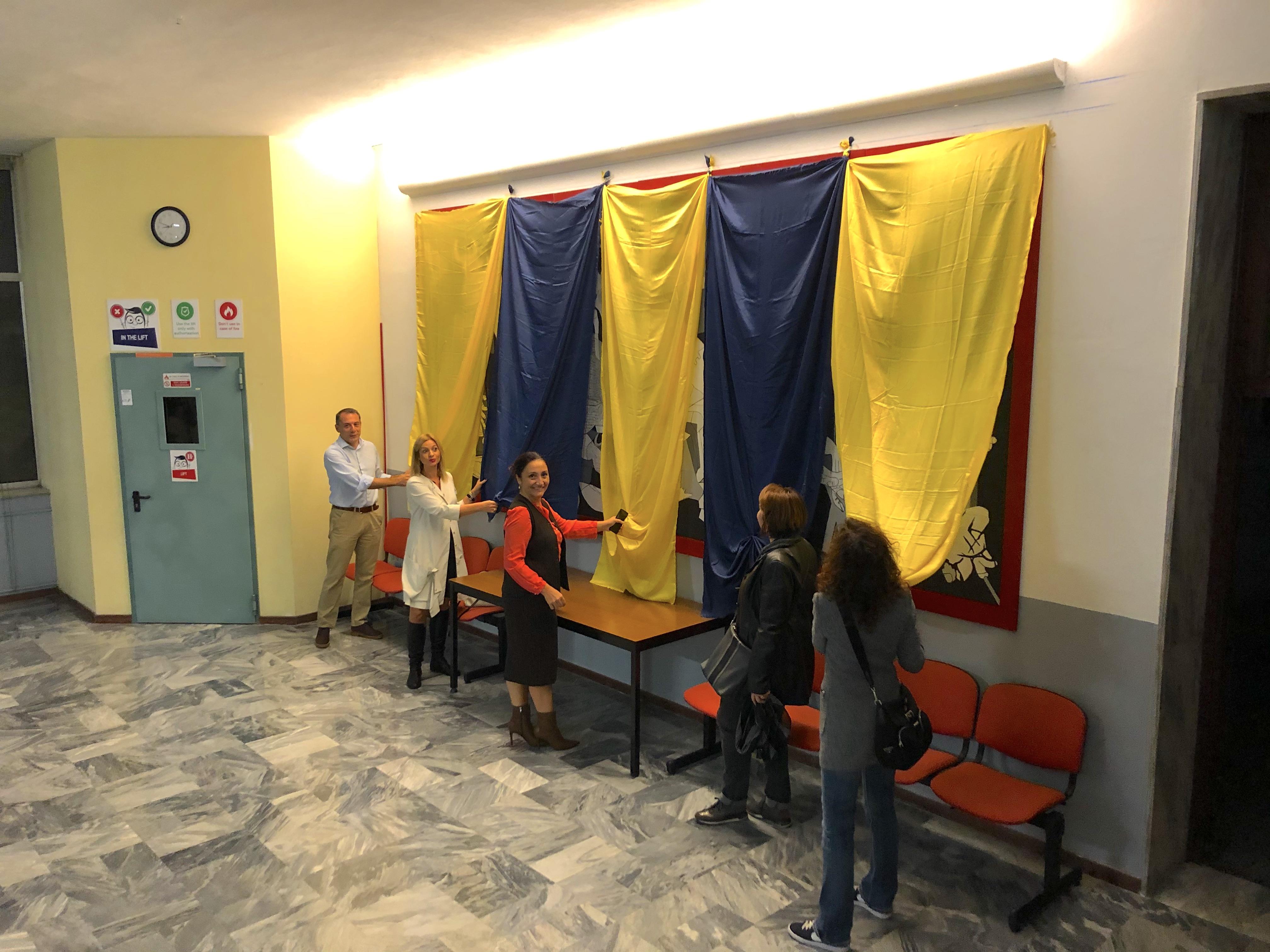 Istituto San Giuseppe La Salle Milano Scuola Primaria Classi Quarte Inaugurazione Guernica_2