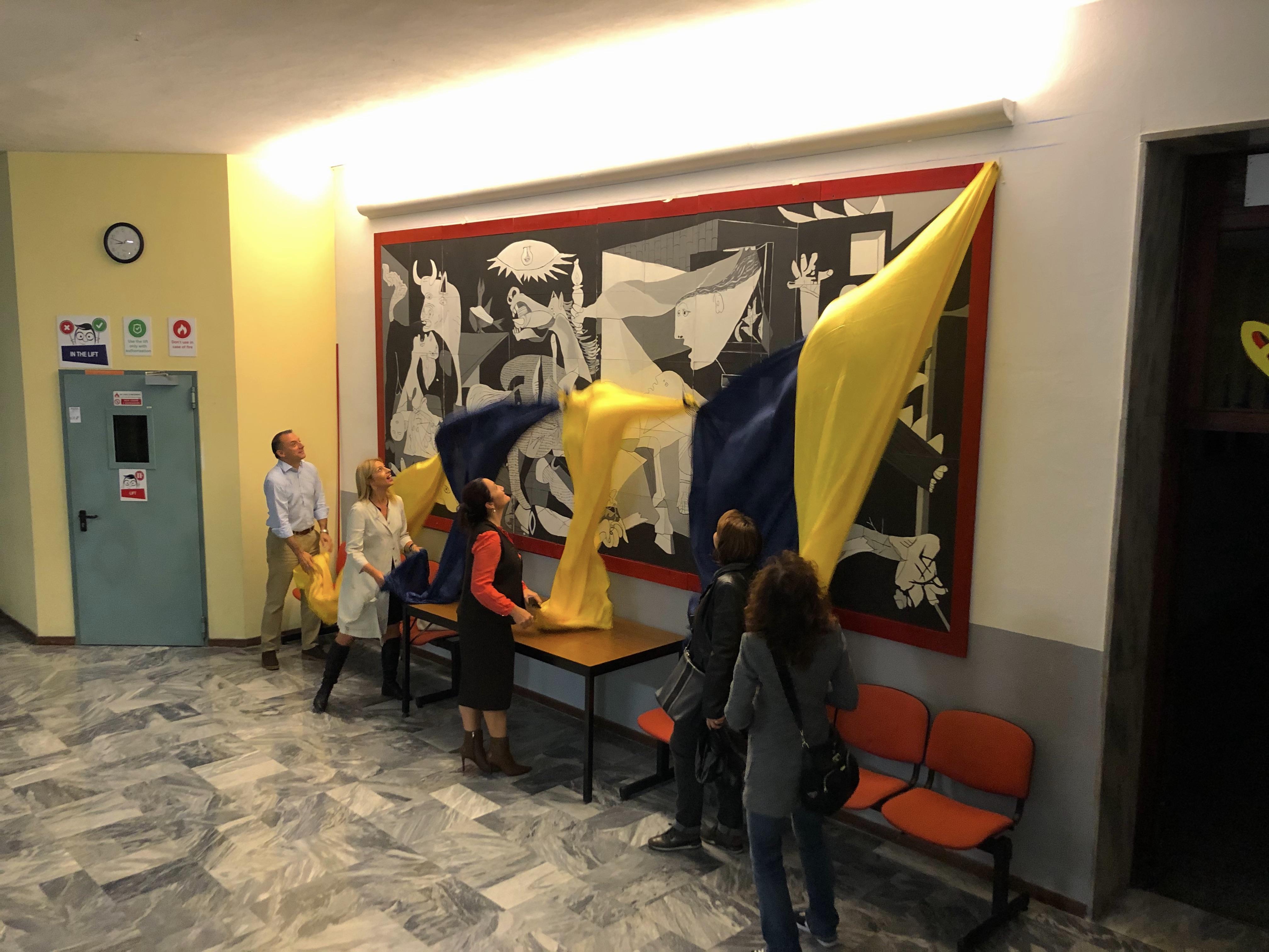 Istituto San Giuseppe La Salle Milano Scuola Primaria Classi Quarte Inaugurazione Guernica_3