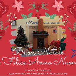 Istituto San Giuseppe La Salle Milano Auguri Natale 2019_Head