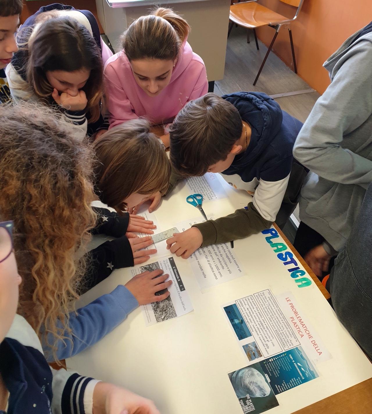 Istituto San Giuseppe La Salle Milano Cooperative Learning Concorso Un Murale per l'Ambiente Amsa A2A-Comune di Milano Classi Prime Scuola Secondaria_1