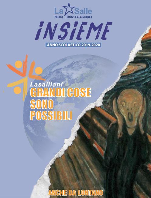 Istituto San Giuseppe La Salle Milano Annuario N° 27 Insieme 2019_2020