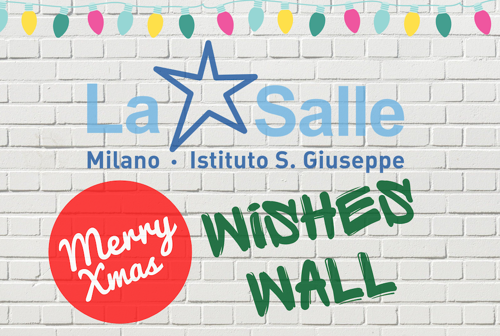Istituto San Giuseppe La Salle Milano Christmas Wishes Wall_Head
