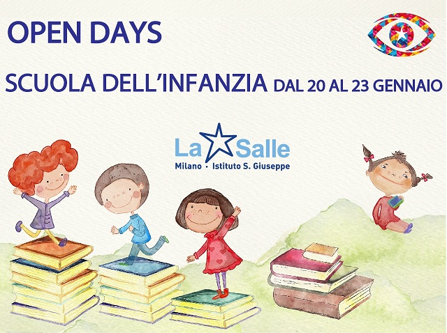 Open Days 2021 Scuola dell'Infanzia Istituto San Giuseppe La Salle Milano 640X480